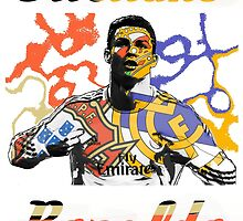 Cristiano Ronaldo Real Madrid Portuguese Legend by AKBame21