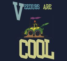 Vee Dub - Cool (Large) T-shirt Design by muz2142