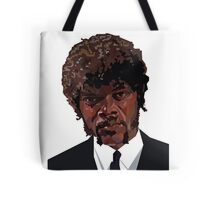 SAMUEL L. JACKSON PULP FICTION GRAPHIC TSHIRT Tote Bag