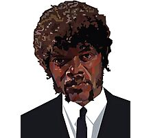 SAMUEL L. JACKSON PULP FICTION GRAPHIC TSHIRT Photographic Print