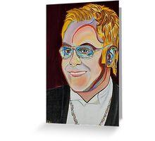 Sir Elton Greeting Card