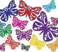 Butterflies by Lou-ann Neel