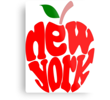 Big Apple New York Metal Print