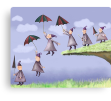 They all floated down Canvas Print