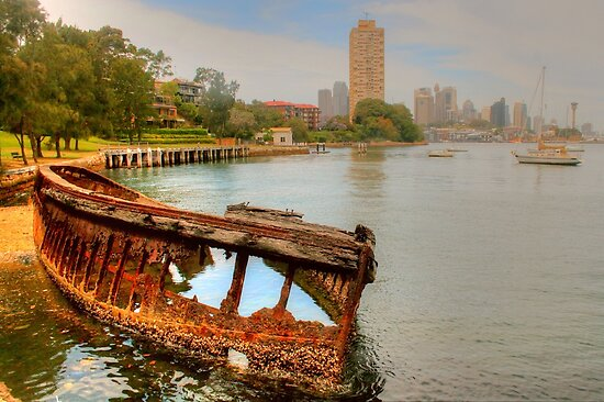 Rusty Remnants at Sawmillers Reserve by Michael Matthews