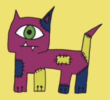 Ugly Cat Kids Clothes