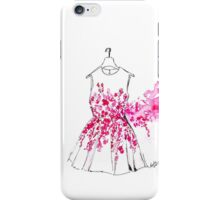 Cherry Blossom Dress iPhone Case/Skin