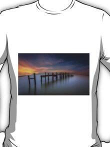 Wooden Pier Sunset T-Shirt