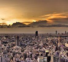 Tokyo Skyline by Phillip Munro