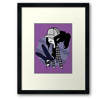 Marceline Hipster - Adventure time Framed Print
