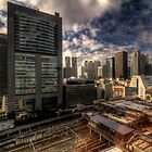Shinjuku HDR by Phillip Munro
