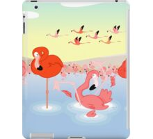 Flamingos iPad Case/Skin