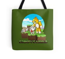 Stampy's World featuring Mr. Stampy Cat and Gregory the Dog! Tote Bag