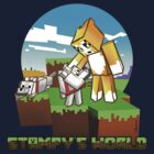 Stampy's World featuring Mr. Stampy Cat and Gregory the Dog! by ladyjiles
