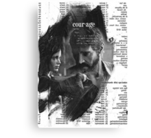 Endure and Survive Canvas Print