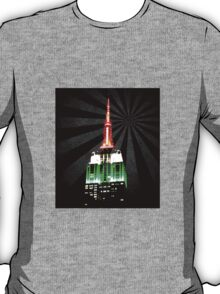 The Empire State Building on a warm summer night T-Shirt