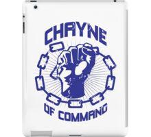 Chayne of Command iPad Case/Skin