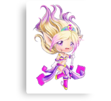 Arcade Janna - Time to play DDR Canvas Print