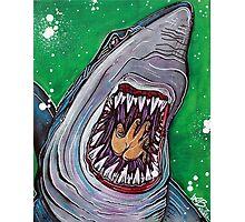 Shark Kill Zone Photographic Print