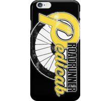 Roadrunner Pedicab - In Grunge Yellow iPhone Case/Skin