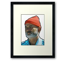 Bill Murray as Steve Sizzou  Framed Print