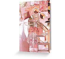 Fashion Collage #10 Greeting Card
