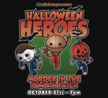 Halloween Heroes! by samRAW08