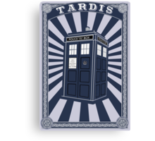 Tardis (Time Machine) Canvas Print