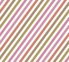 Pink Roses in Anzures 2 Stripes 1B by Christopher Johnson