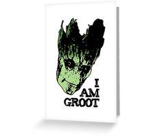 I am Groot. Greeting Card
