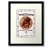 WAS - The Gyro Captain Framed Print