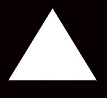 WHITE TRIANGLE by Rock-it