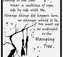 The Haning Tree - Song by Katniss (HG) by Mellark90