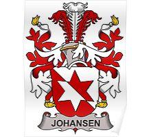 Johansen Coat of Arms (Danish) Poster