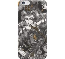She Was A Haunted House iPhone Case/Skin