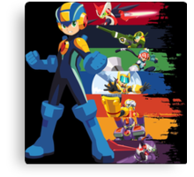 Megaman: Souls of a Hero V2 Canvas Print