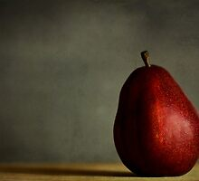 Red Pear by LawsonImages