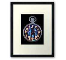 The Clock Strikes Twelve Framed Print