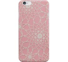 Vintage Tatted Lace  iPhone Case/Skin