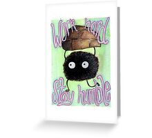 Spirited Away Illustration - SOOT SPRITE Greeting Card