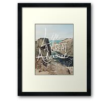 Great Adventure Framed Print