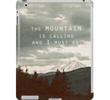 Muir: Mountain iPad Case/Skin