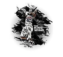 LeBron James - The King Returns Photographic Print