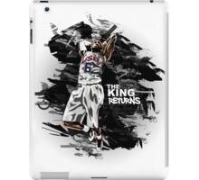 LeBron James - The King Returns iPad Case/Skin