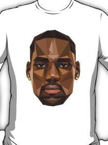 LeBron James Abstract Retro Design T-Shirt