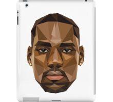 LeBron James Abstract Retro Design iPad Case/Skin