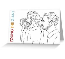 Young the Giant Doodle Greeting Card