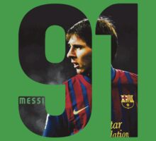 Lionel Messi 91 Kids Clothes