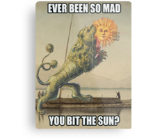 So mad! This Mad! Metal Print