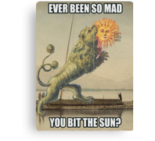 So mad! This Mad! Canvas Print